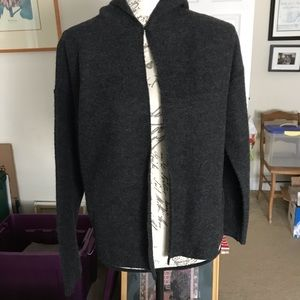 Gorgeous Eileen Fisher Boiled Wool sweater!!